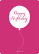 Pink Birthday Balloons Invitations Image 2 of 10