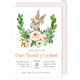 Easter Bunny Spring Spray Invitations Image 1 of 3