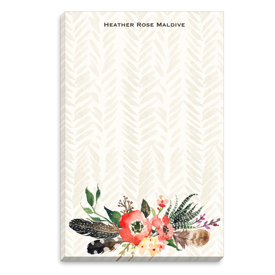 Autumn Floral Spray Notepads