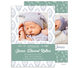 Green Arrow Photo Birth Announcements Image 1 of 3
