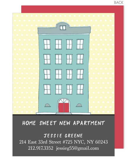 New Apartment Moving Announcements
