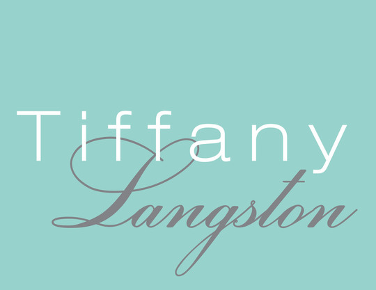 Tiffany Large Name Folded Note Cards