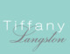 Tiffany Large Name Folded Note Cards Image 1 of 2