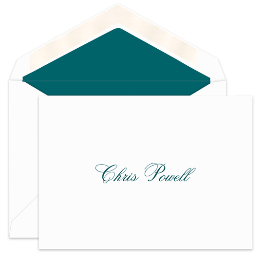 Classic Informal Folded Note Cards
