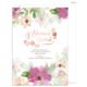 L'Shanah Tovah Foil Floral Jewish New Year Cards Image 5 of 5