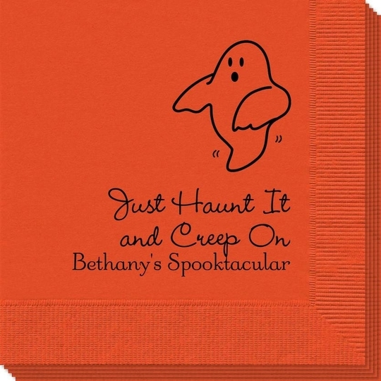 The Friendly Ghost Napkins