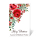 Christmas Roses Folded Gift Enclosures Image 1 of 2