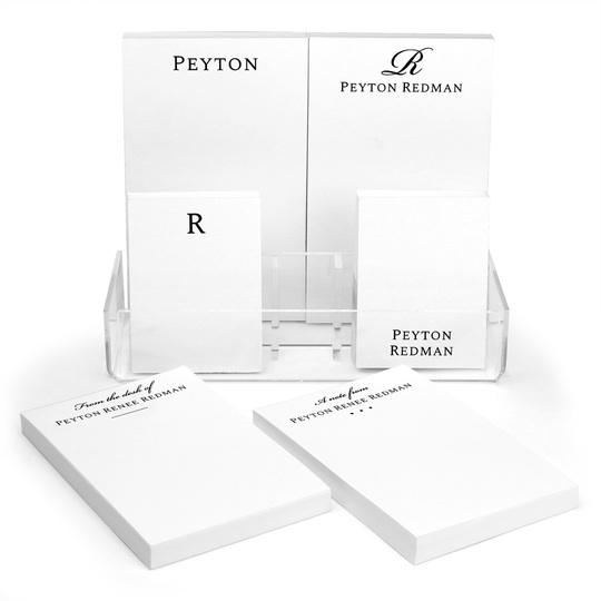 Peyton Notepad Collection