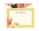 Yellow Rose Flat Correspondence Cards Image 1 of 4