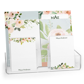 Corner Roses Notepad Collection