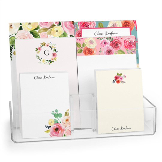 Colorful Roses Notepad Collection