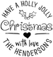 Holly Jolly Self Inking Stamper Image 2 of 3