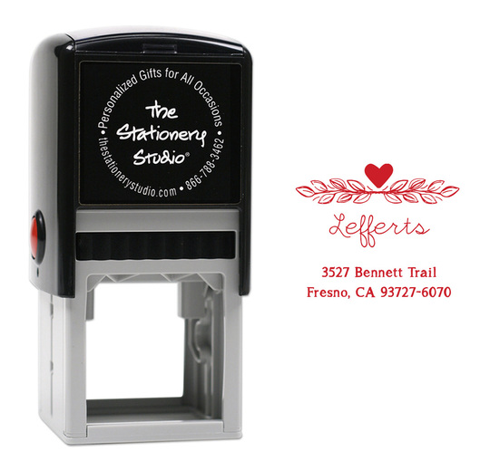 Vine Duo Self Inking Stamper