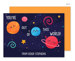 Out of this World Valentine Exchange Cards