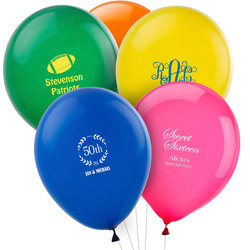 Design Your Own Personalized Latex Balloons