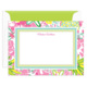 Tropical Garden Border Flat Note Cards Image 1 of 2
