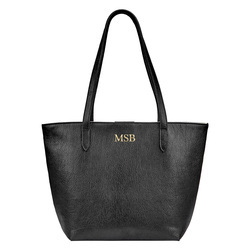 Personalized Ella Leather Travel Tote