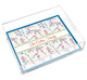 Cherry Blossoms Lucite Tray Image 1 of 4