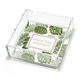 Palm Leaves Petite Lucite Trinket Tray Image 1 of 2