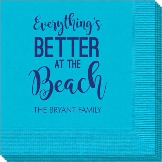 Better at the Beach Napkins