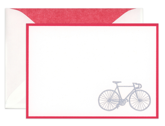 Engraved Bicycle Boxed Note Cards