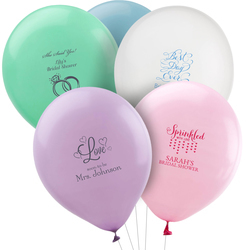 Design Your Own Bridal Shower Latex Balloons
