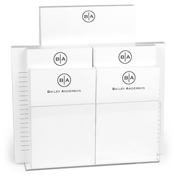 Circle Initials Notepad Collection
