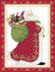 Embossed Santa Holiday Cards Image 1 of 2