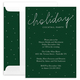 Holiday Cocktail Party Foil Invitations Image 1 of 2