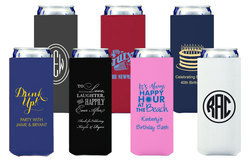 Design Your Own Collapsible Slim Koozies