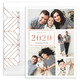 Happy New Year Foil Multi Holiday Photo Cards Image 7 of 8