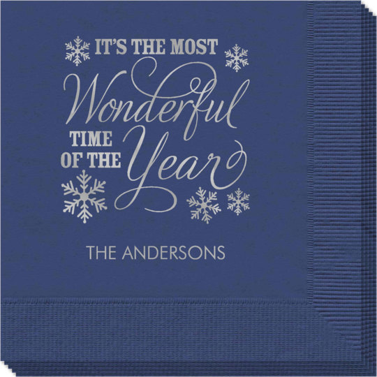 Wonderful Time of the Year Napkins