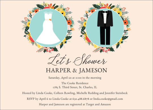 Future Mr. and Mrs. Couples Shower Invitations