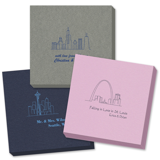 Design Your Own Skyline Linen Like Napkins