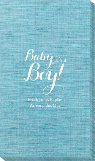 Baby It's A Boy Bamboo Luxe Guest Towels