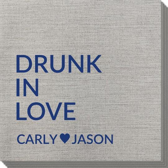 Drunk In Love Bamboo Luxe Napkins