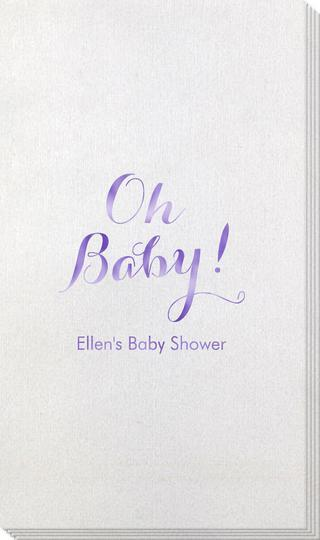 Elegant Oh Baby Bamboo Luxe Guest Towels