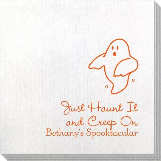 The Friendly Ghost Bamboo Luxe Napkins