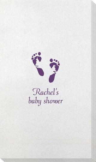 Baby Twinkle Toes Bamboo Luxe Guest Towels