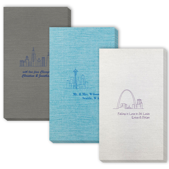 Design Your Own Skyline Bamboo Luxe Guest Towels