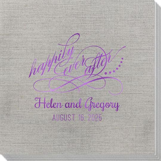 Happily Ever After Bamboo Luxe Napkins