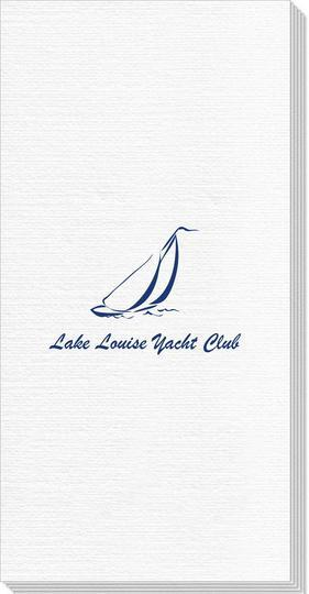 Sailboat Clipper Deville Guest Towels