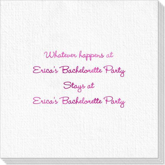Whatever Happens Party Deville Napkins