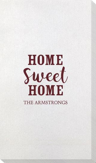Home Sweet Home Bamboo Luxe Guest Towels