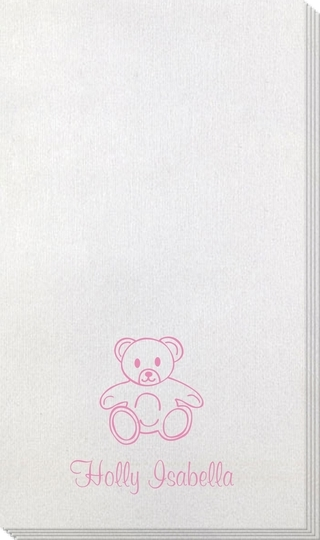 Little Teddy Bear Bamboo Luxe Guest Towels