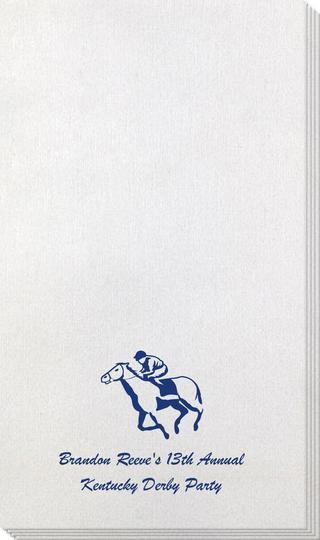 Horserace Derby Bamboo Luxe Guest Towels