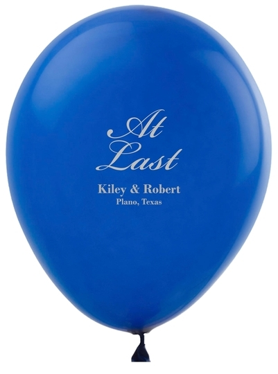 At Last Latex Balloons