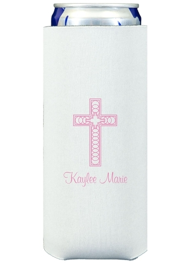Cross Inspiration Collapsible Slim Koozies