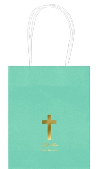 Simple Cross Mini Twisted Handled Bags