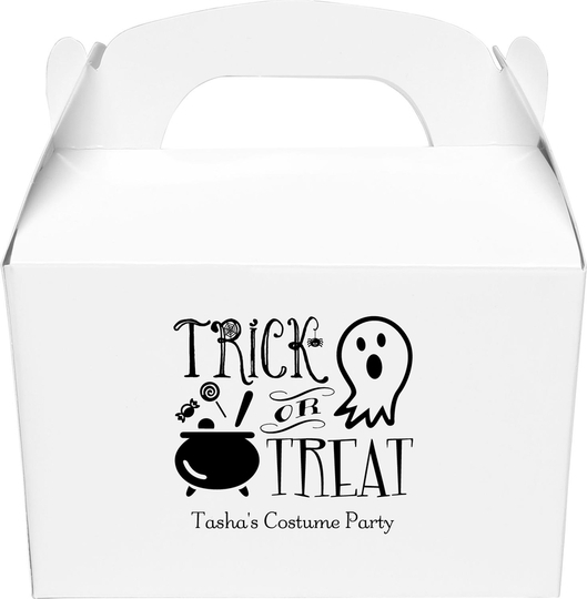 Trick or Treat Gable Favor Boxes
